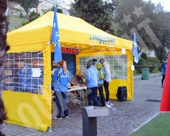 Carpa plegable de 3x4.5m Qualytent