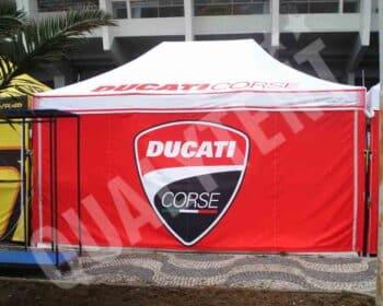 Carpa full print para Ducati