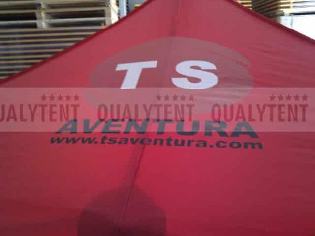 Carpas plegables impresas de Qualytent