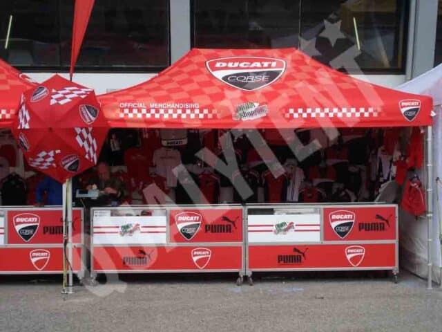 Carpa Premium de 3x4,5m para Ducati
