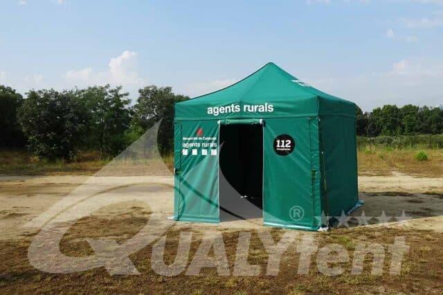 Carpa plegable 3x3 Agentes Rurales