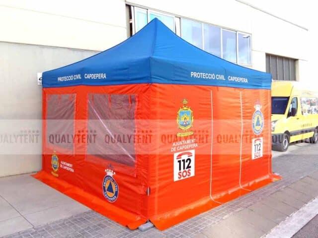 Carpa Rescue de 4x4 para protección civil