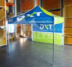 Carpa plegable de 3 por 3 full print