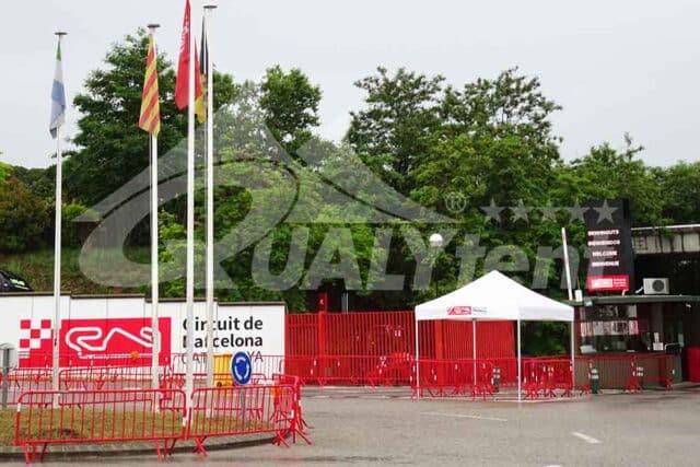 Carpas plegables Circuit Catalunya