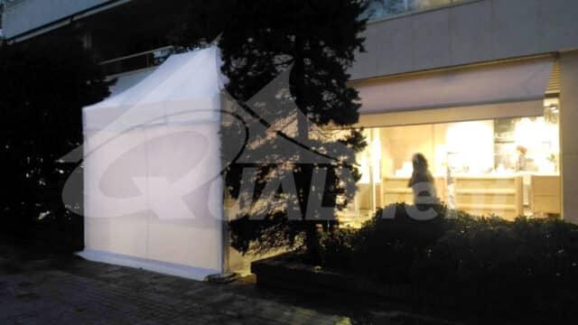 Carpa Premium blanca de 2x3