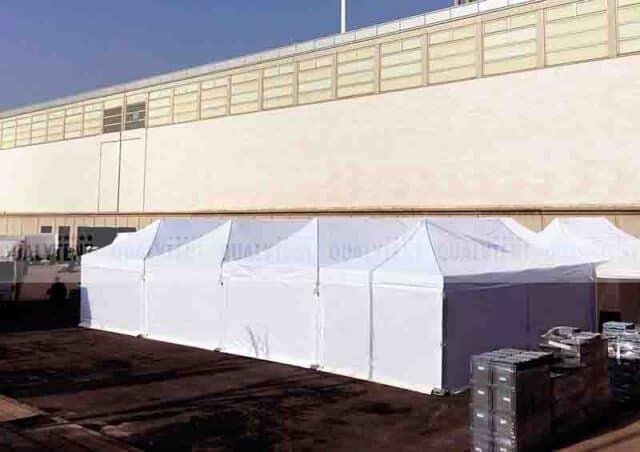 Carpa modular 16x16 segura